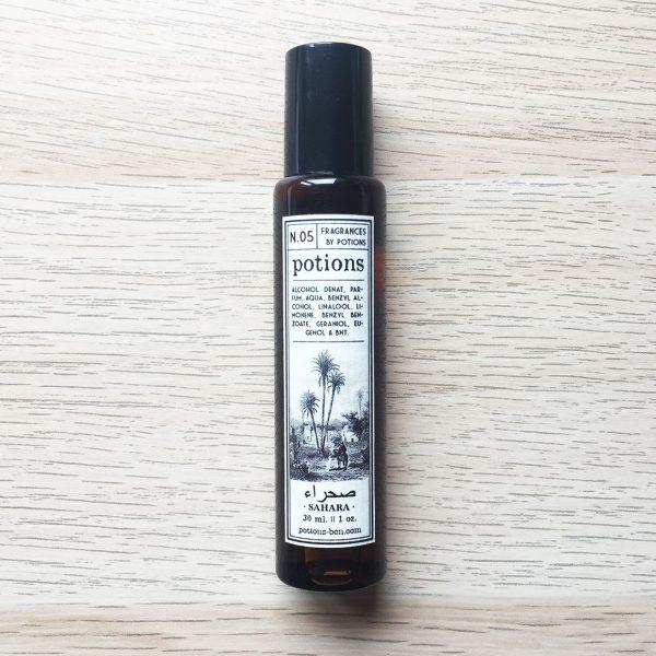 Potions BCN perfume en roll on N.5 Sahara (ylang ylang y jazmín)