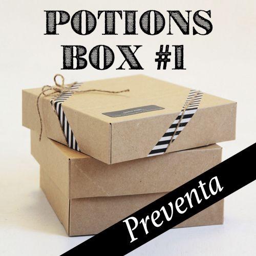 Potions Box #1 Cosmética vegana handmade in Barcelona