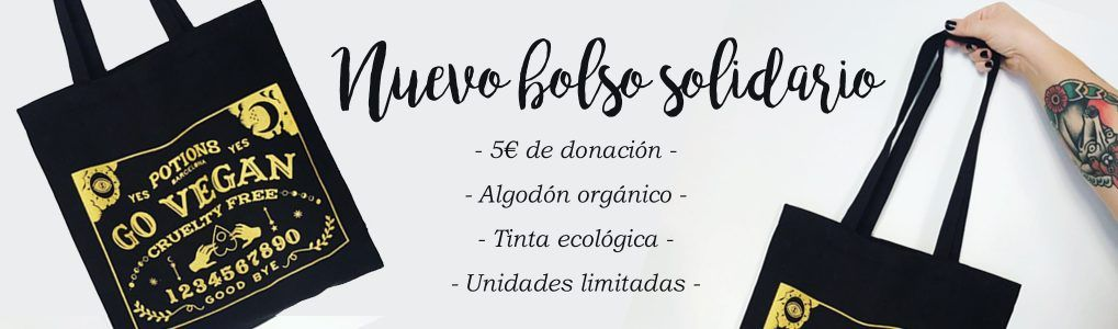 Bolso Solidario GO VEGAN