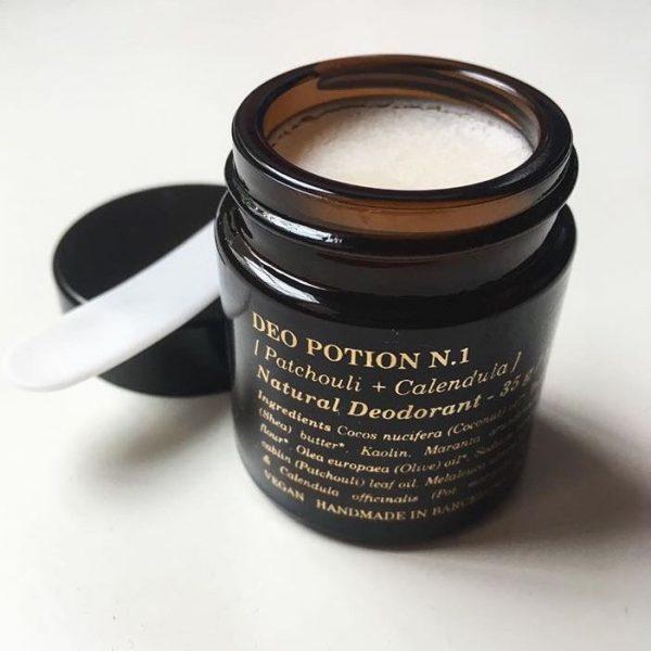 Desodorante natural en crema de Potions BCN