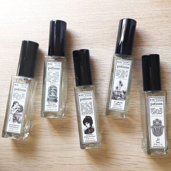 Potions BCN perfumes en spray