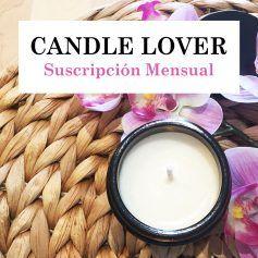 Candle lover - Suscripción mensual velasde soja veganas perfumadas