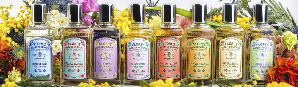Agua de tocador Flores Mediterráneas de Alvarez Gomez