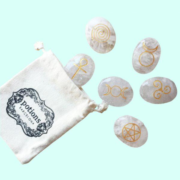 Set piedras Wicca de cuarzo de Potions BCN