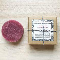 Soap Sponge de glicerina vegetal y aceite de onagra, de Potions BCN