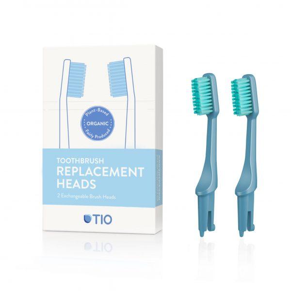 TIO brush - bioplástico Recambio cerdas dureza media (azul) - Potions BCN