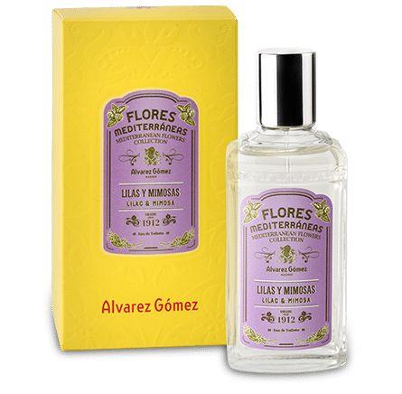 Agua de colonia Flores Mediterráneas - Lilas y mimosas