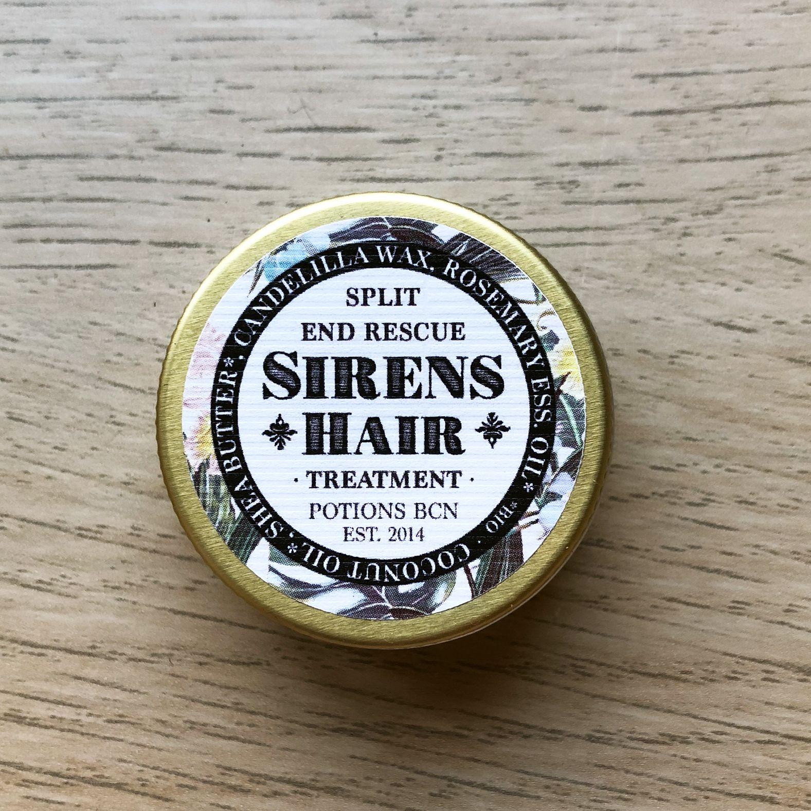Sirens Hair - Tratamiento vegano para las puntas abiertas de Potions BCN