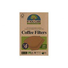 Filtros ecológicos de papel para café - If You Care en Potions BCN