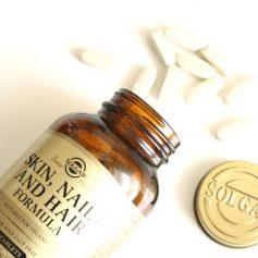 Suplemento fortalecedor del cabello, uñas y piel - Skin Nails and Hair de Solgar