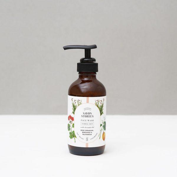 Savon Stories - Limpiador facial ecológico y vegano para pieles normales - Potions BCN