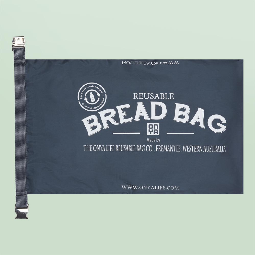 Bolsa para el pan sin plástico para compra a granel. Vegano. Potions BCN. Onya.