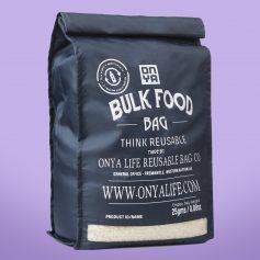 Bolsas sin plástico para compra a granel. Vegano. Potions BCN. Onya.