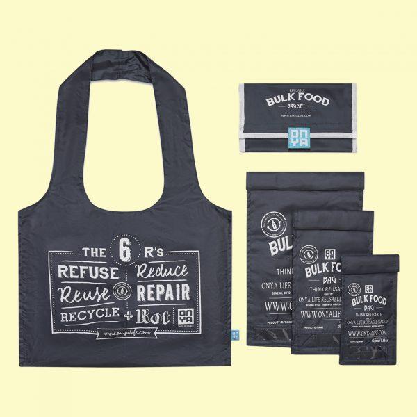 Starter Kit - Bolsas sin plástico para compra a granel. Vegano. Potions BCN. Onya.
