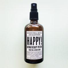 Aromaterapia Potions - Bruma de almohada orgánica Happy! Potions BCN
