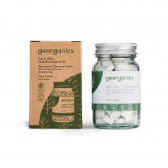 Dentífrico en pastillas de árbol de té zero waste vegano Georganics Potions BCN