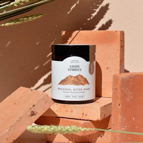 Organic rhassoul - Arcilla mascarilla