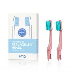 TIO brush - bioplástico Recambio cerdas dureza media (rosa) - Potions BCN