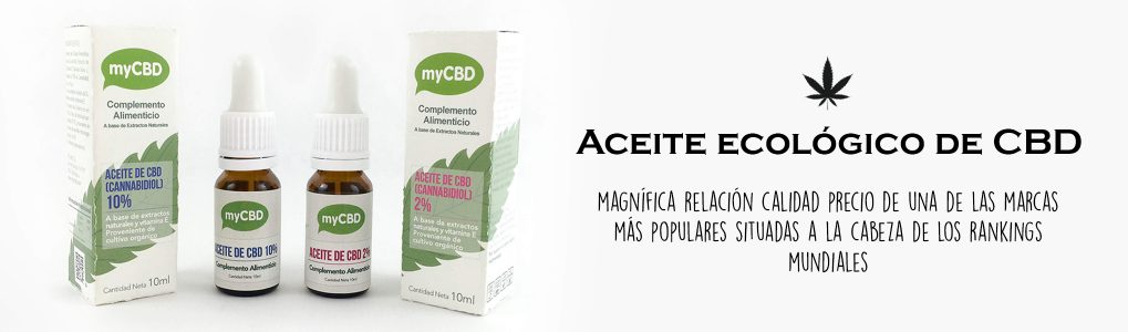 Aceite CBD ecológico myCBD