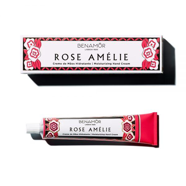 Crema de manos hidratante vegana Benamor Rose Amélie - Potions BCN
