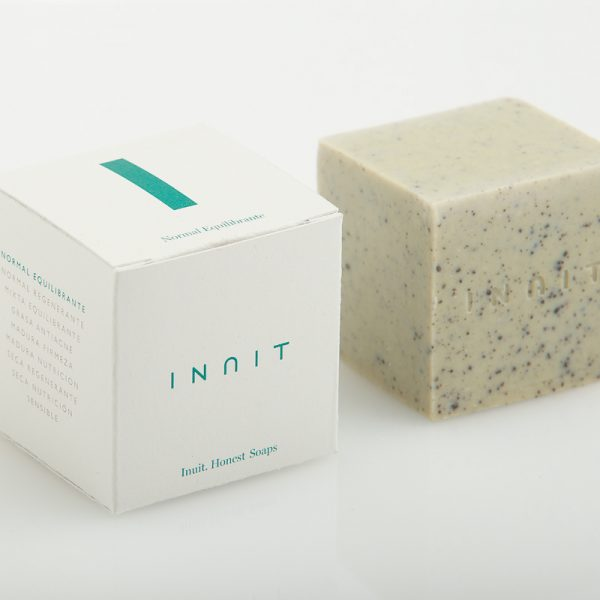 Jabón XL Inuit 01 Piel normal equilibrante con jojoba y arcilla verde