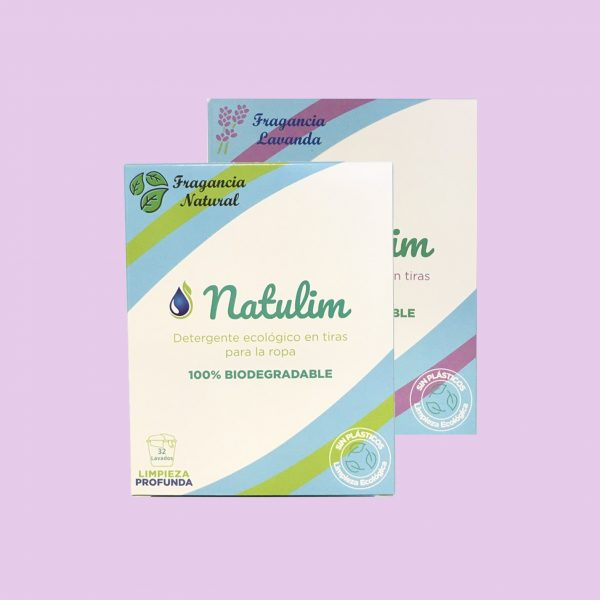 Natulim detergente sólido en tiras ecológico