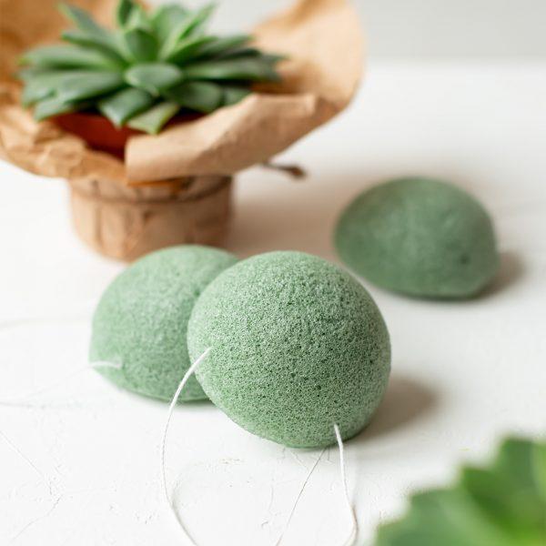 Esponja konjac con arcilla verde Potions BCN
