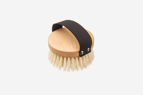 Cepillo vegano de masaje en seco de madera de haya de alta calidad y libre de plástico - Potions BCN