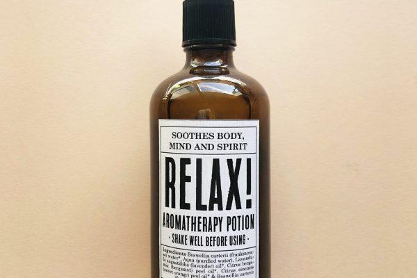 Potions BCN - Relax Aromatherapy Potions, bruma de almohada relajante con aceites esenciales