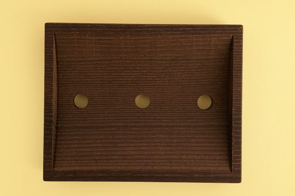 Jabonera de madera thermowood Potions BCN