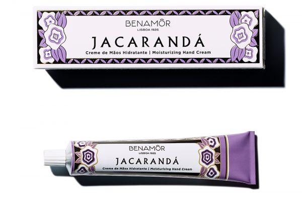 Crema de manos hidratante vegana Benamor Jacarandá - Potions BCN