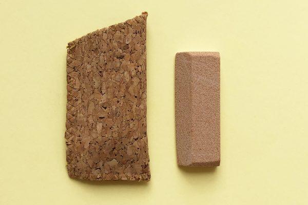 Lima de uñas de piedra arenisca con estuche de corcho - Potions BCN